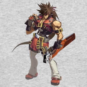 guilty gear xrd revelator (sol badguy) - Men's Long Sleeve T-Shirt by Next Level