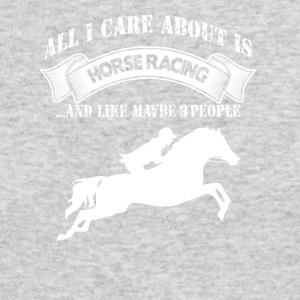 Horse Racing - Men's Long Sleeve T-Shirt by Next Level