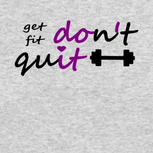 Dont Quit get fit printfile front - Men's Long Sleeve T-Shirt by Next Level