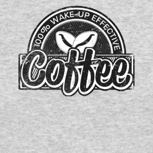 Coffee Lovers Distressed Retro Logo Style - Men's Long Sleeve T-Shirt by Next Level