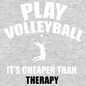 volleyball designs - Men's Long Sleeve T-Shirt by Next Level