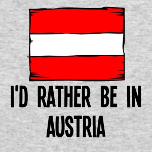 I'd Rather Be In Austria - Men's Long Sleeve T-Shirt by Next Level