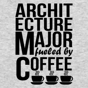 Architecture Major Fueled By Coffee - Men's Long Sleeve T-Shirt by Next Level