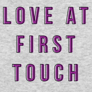 LOVE AT FIRST TOUCH - Men's Long Sleeve T-Shirt by Next Level