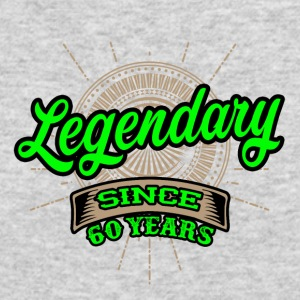 Legendary since 60 years t-shirt and hoodie - Men's Long Sleeve T-Shirt by Next Level