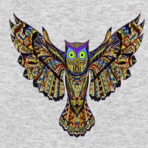 owl - Men's Long Sleeve T-Shirt by Next Level