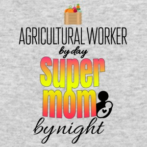 Agricultural worker by day and super mom by night - Men's Long Sleeve T-Shirt by Next Level