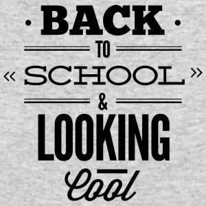 back_to_school_and_looking_cool_2 - Men's Long Sleeve T-Shirt by Next Level