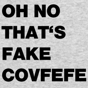 fake covfefe - Men's Long Sleeve T-Shirt by Next Level