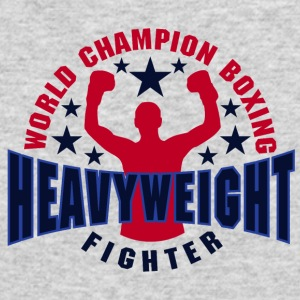 Heavy weight Fighter - Men's Long Sleeve T-Shirt by Next Level
