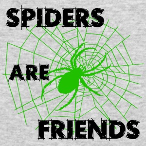 spiders are friends - Men's Long Sleeve T-Shirt by Next Level