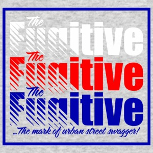 FUGITIVE 1312 BLUE RED AND WHITE - Men's Long Sleeve T-Shirt by Next Level
