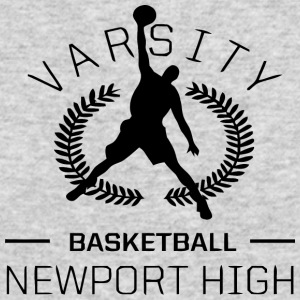 Varsity Basketball - Men's Long Sleeve T-Shirt by Next Level