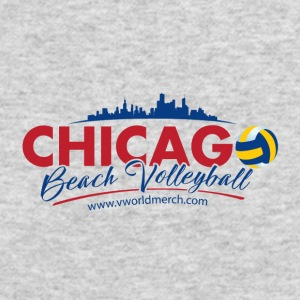 Chicago Beach Volleyball B - Men's Long Sleeve T-Shirt by Next Level