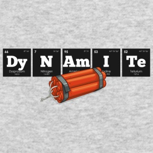 Periodic Elements: DyNAmITe - Men's Long Sleeve T-Shirt by Next Level