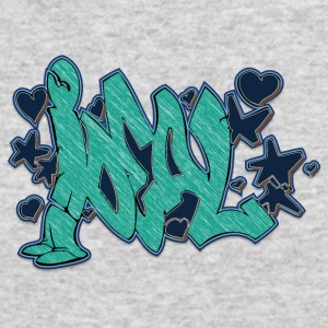 ideal_graffiti_blue - Men's Long Sleeve T-Shirt by Next Level