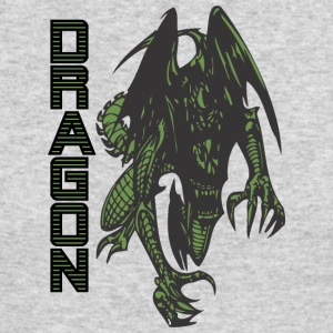attacking_wild_dragon_green - Men's Long Sleeve T-Shirt by Next Level
