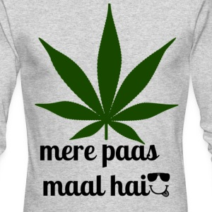 MERE PAAS MAAL HAI GREEN STUFF - Men's Long Sleeve T-Shirt by Next Level