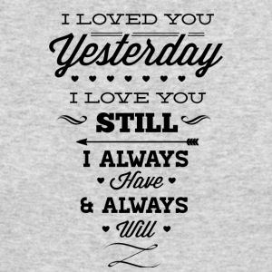 I_will_love_you_forever-01 - Men's Long Sleeve T-Shirt by Next Level