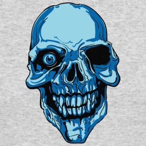 blue_skull_with_single_eye - Men's Long Sleeve T-Shirt by Next Level