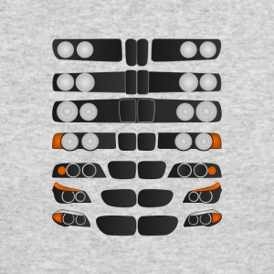Evolution of BMW 5 series - Men's Long Sleeve T-Shirt by Next Level