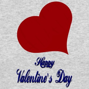 Happy-Valentines Day-heart-love - Men's Long Sleeve T-Shirt by Next Level