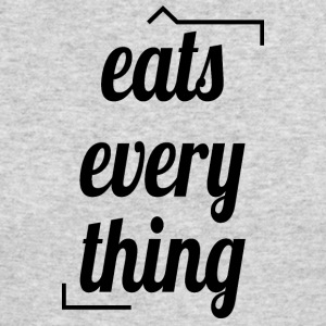 Eats everything - Men's Long Sleeve T-Shirt by Next Level
