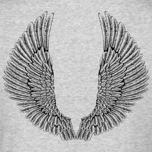 angelic-wings-vector - Men's Long Sleeve T-Shirt by Next Level