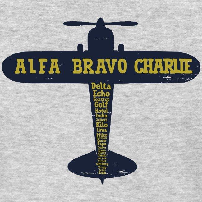 International Phonetic Alphabet Airplane