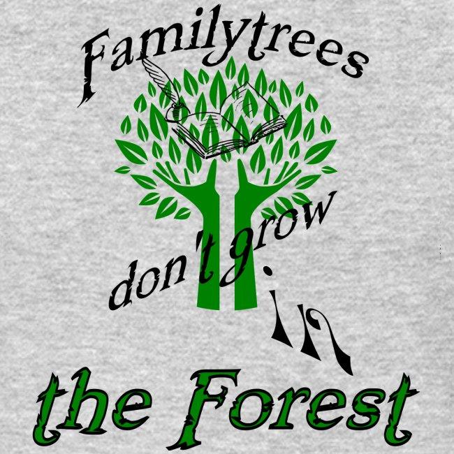 genealogy family tree forest funny birthday gift