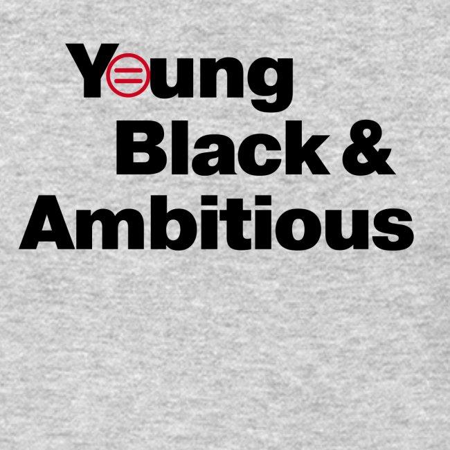 YBA white and gray shirt