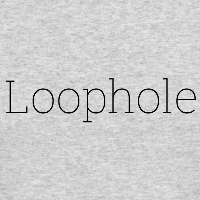 """""""Loophole"""" Abstract Design"""