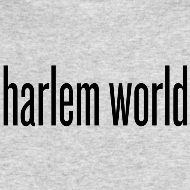 harlem world brand logo t