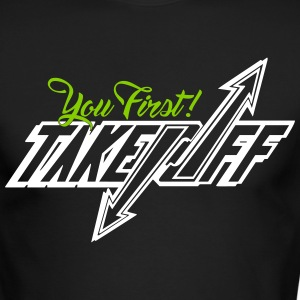 Take_Off-youfirst - Men's Long Sleeve T-Shirt by Next Level