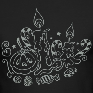 Halloween illustration - Men's Long Sleeve T-Shirt by Next Level