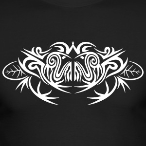 Big Tribal frog and leaves - Men's Long Sleeve T-Shirt by Next Level