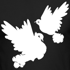 Pigeons and doves - Men's Long Sleeve T-Shirt by Next Level