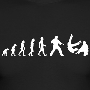 Evolution Judo Aikido Martial Art - Men's Long Sleeve T-Shirt by Next Level