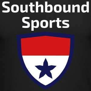 The Southbound Sports Shield Logo. - Men's Long Sleeve T-Shirt by Next Level