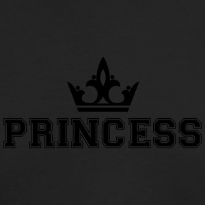 Princess_with_crown1 - Men's Long Sleeve T-Shirt by Next Level