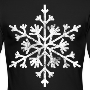 Big snowflake christmas t shirt - Men's Long Sleeve T-Shirt by Next Level