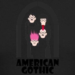 american gothic - Men's Long Sleeve T-Shirt by Next Level