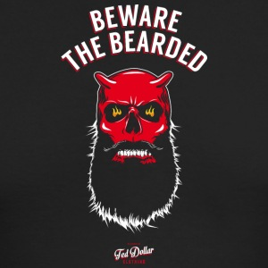Beware the Beraded - Men's Long Sleeve T-Shirt by Next Level