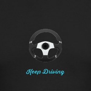 Keep Driving T-shirt - Men's Long Sleeve T-Shirt by Next Level
