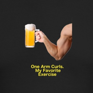 Beer Curls - Men's Long Sleeve T-Shirt by Next Level
