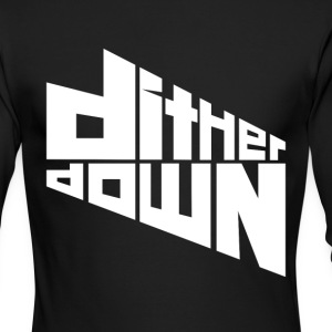 Dither Down - Men's Long Sleeve T-Shirt by Next Level