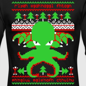 Cthulhu Christmas - Men's Long Sleeve T-Shirt by Next Level