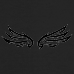 Storm Angel Wings (Small) - Men's Long Sleeve T-Shirt by Next Level