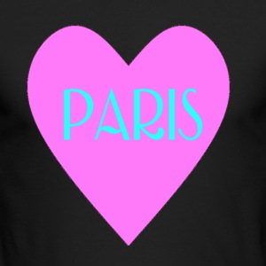 I Love Paris - Men's Long Sleeve T-Shirt by Next Level