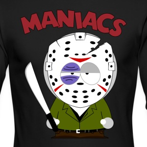 South Park Maniacs Voorhees - Men's Long Sleeve T-Shirt by Next Level